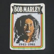 Bob Marley 4 inch X 3 inch decal