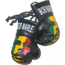 Bob Marley mini boxing gloves