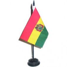 Bolivia 4 X 6 inch desk flag