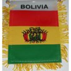 Bolivia flag mini banner