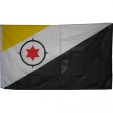 Bonaire 2 feet X 3 feet polyester flag