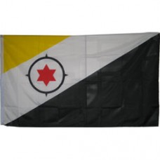 Bonaire 3 feet X 5 feet polyester flag