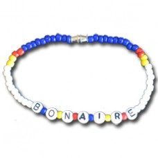 Bonaire flag Beaded Bracelet