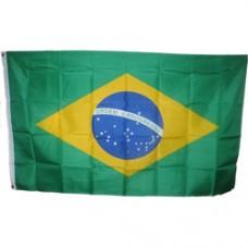 Brazil 3 feet X 5 feet polyester flag