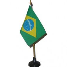 Brazil 4 X 6 inch desk flag