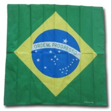Brazil flag 100% Cotton Bandana