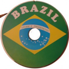 Brazil flag CD