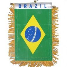 Brazil flag Mini Banner