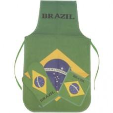 Brazil flag three piece Kitchen Set