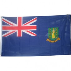 British V.I. 2 feet X 3 feet polyester flag
