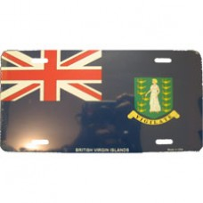 British Virgin Islands License Plate