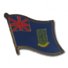 British Virgin Islands flag Lapel Pin