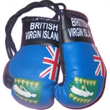 British Virgin Islands flag mini boxing glove