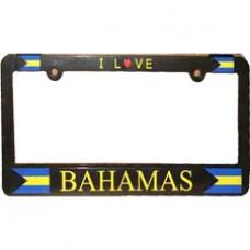 Buy Bahamas Flag License Plate Frame