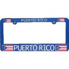 Buy Blue Puerto Rico Flag License Plate Frame