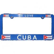 Buy Cuba Flag License Plate Frame