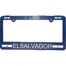 Buy El Salvador Flag License Plate Frame