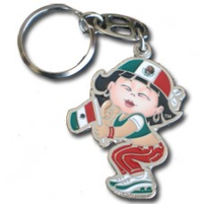 Buy Mexico Flag Large Girl key ring