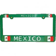 Buy Mexico Flag License Plate Frame