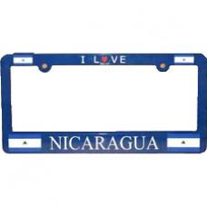 Buy Nicaragua Flag License Plate Frame