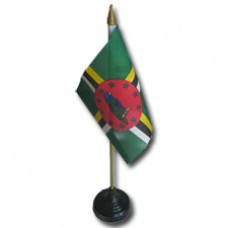 Buy a Dominica 4 X 6 inch desk flag