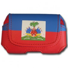 Buy a Haiti Flag Cell Phone Holster / Case