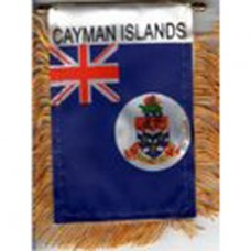 Cayman Islands flag mini banner