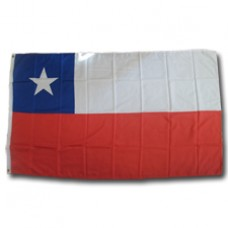Chile 2 feet X 3 feet polyester flag