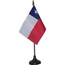 Chile 4 X 6 inch desk flag