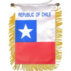 Chile flag Mini Banner