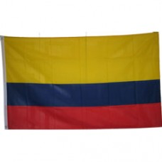 Colombia 3 feet X 5 feet polyester flag