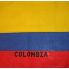 Colombia flag 100% Cotton Bandana