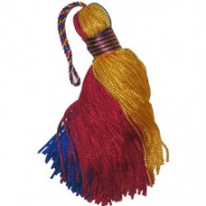 Colombia flag Small Tassel