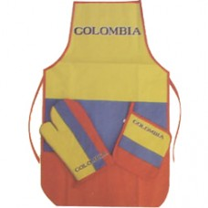 Colombia flag three piece Kitchen Set