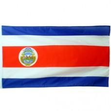 Costa Rica 2 feet X 3 feet polyester flag
