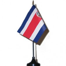 Costa Rica 4 X 6 inch desk flag