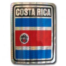 Costa Rica 4 inch X 3 inch decal