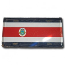 Costa Rica flag License Plate