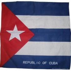 Cuba 100% Cotton Bandana