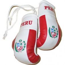 NEW Design Peru flag mini boxing gloves