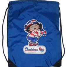 Dominican Republic girl back pack