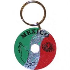 Mexico Circular key ring