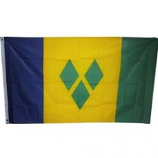 St. Vincent and the Grenadines 3 X 5 feet polyester flag