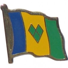 St. Vincent and The Grenadines Lapel Pin