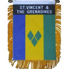 St. Vincent And The Grenadines Mini Banner