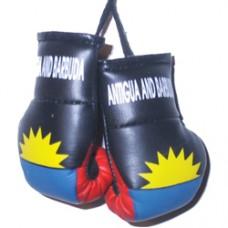 Antigua and Barbuda Flag Mini Boxing Gloves