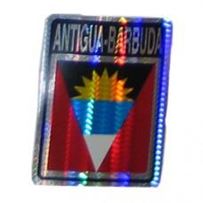 Antigua and Barbuda flag 4X3 inch decal