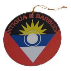 Antigua and Barbuda flag CD