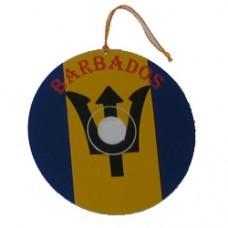 Barbados flag CD - BIG FLAG