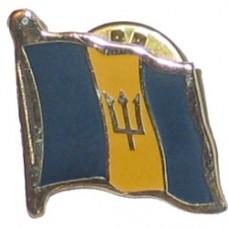 Barbados flag Lapel Pin